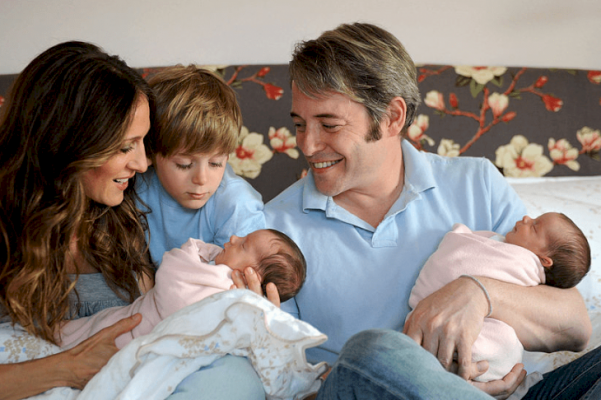 Subrogate motherhood helped Sarah Jessica Parker